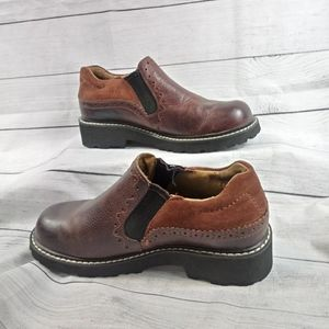 Ariat Loafers Brown Leather